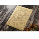 Golden Charisma Wedding Invitation