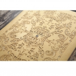 Golden Charisma Invitation Card