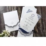 Graceful Ivory Pocket Card Design
