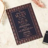 Gradient Glamour Invite Card