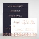 Gradient Glamour Wedding Invite Card Design