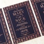 Gradient Glamour Invitation Card Design