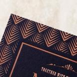 Gradient Glamour Wedding Invitation Card Design