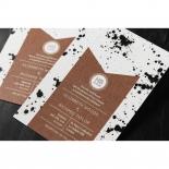 Graffiti Wedding Invite Card