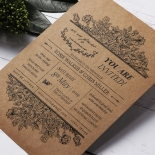 Hand Delivery Wedding Invite