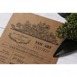 Hand Delivery Wedding Invitation Card