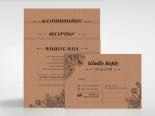 Hand Delivery Wedding Invitation Card Design