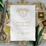 Heritage of Love Wedding Invite Card