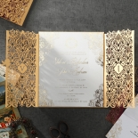 Imperial Glamour Wedding Card Design