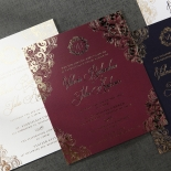 Imperial Glamour Invitation Card