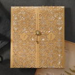 Imperial Glamour Wedding Invitation Card Beautifully Design