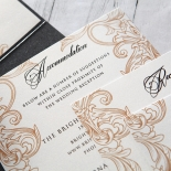 Imperial Pocket Wedding Invite Card