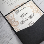 Imperial Pocket Wedding Card