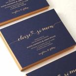 Infinity Stationery invite