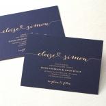 Infinity Wedding Invite Design