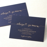 Infinity Wedding Invitation Card