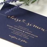 Infinity Wedding Invitation Design