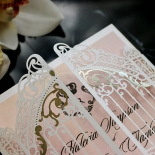 Ivory Victorian Gates Wedding Invitation Design
