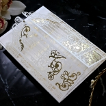 Ivory Victorian Gates with Foil Card