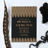 Jeweled Ikat Card Design