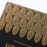 Jeweled Ikat Invite Card