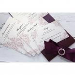 Jewelled Elegance Wedding Invite Card