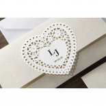 Letters of love Wedding Invitation Design