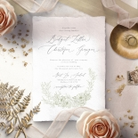 Love Estate Invitation Design