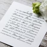 Love Letter Wedding Invite Card