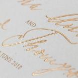 Love Letter Wedding Invite