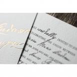 Love Letter Wedding Invite Design