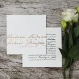 Love Letter Wedding Invitation Card