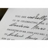 Love Letter Wedding Card