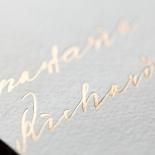 Love Letter Wedding Invitation Design