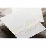 Love Letter Wedding Invitation Card Design