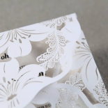 Lovely Lillies Wedding Invite Card