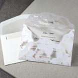 Lovely Lillies Invite Card Design