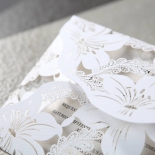Lovely Lillies Wedding Invite