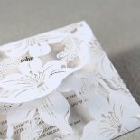Lovely Lillies Invite Card