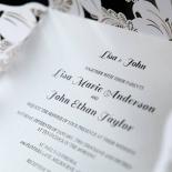 Lovely Lillies Wedding Invite Design