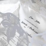 Lovely Lillies Invitation Design