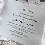 Lovely Lillies Wedding Invitation Design