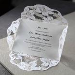 Lovely Lillies Wedding Invitation Card Design