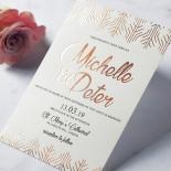 Luxe Rhapsody Wedding Invite Card