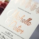Luxe Rhapsody Wedding Card