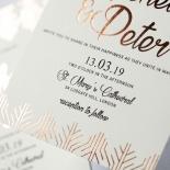 Luxe Rhapsody Wedding Invitation Card Design