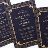 Luxe Victorian Stationery invite
