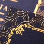 Luxe Victorian Stationery card design