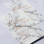 Marble Minimalist Card Design