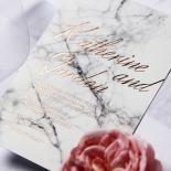 Marble Minimalist Invite